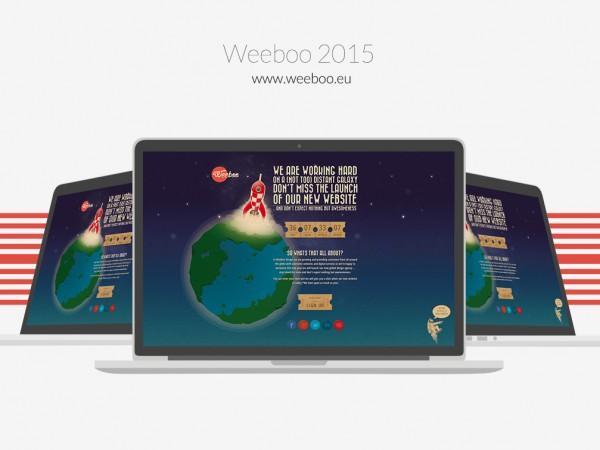 Weeboo 2015 Landing Page