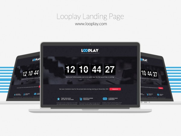 Looplay Launch page