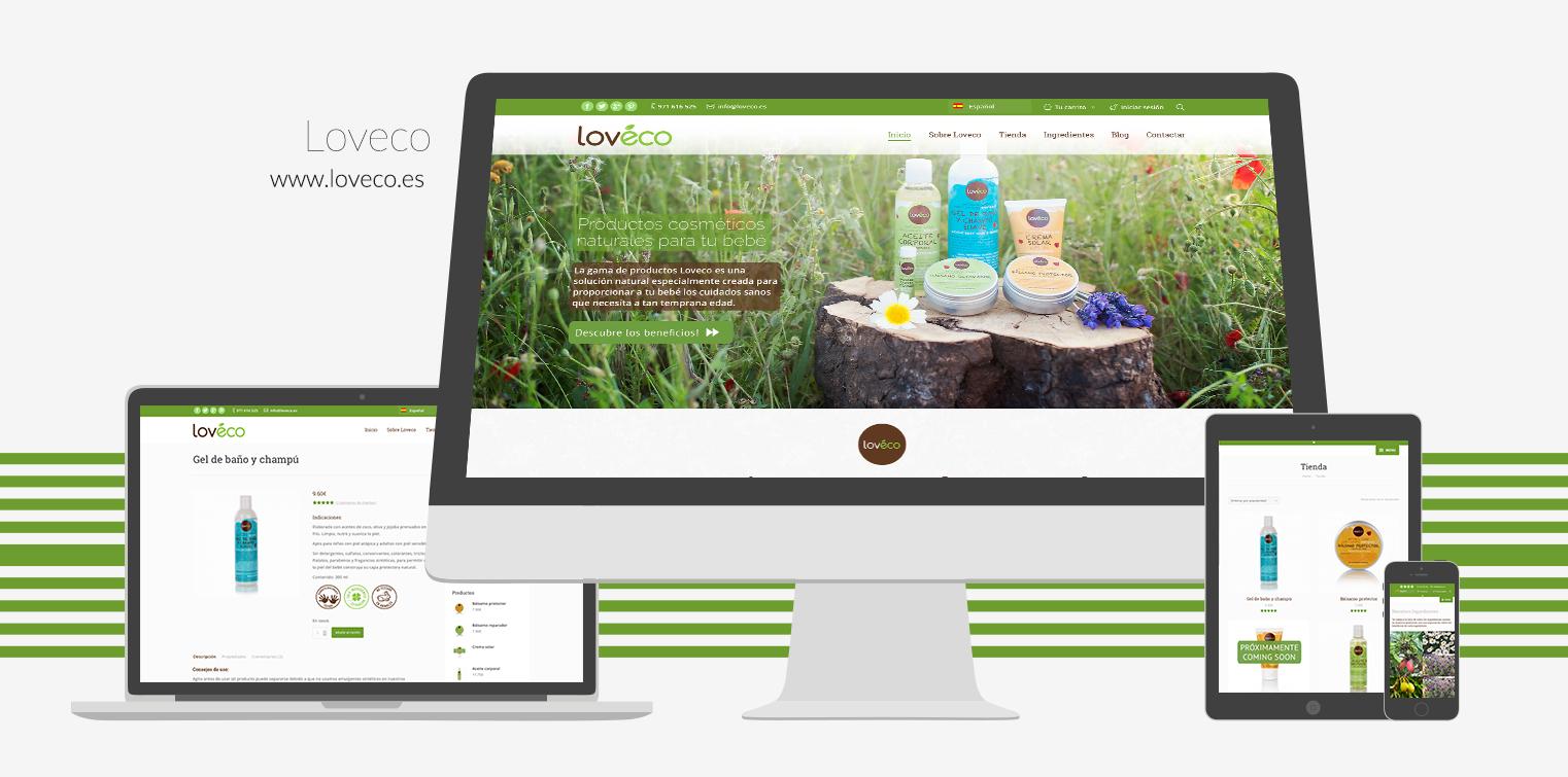 Loveco Weeboo Web Design Portfolio