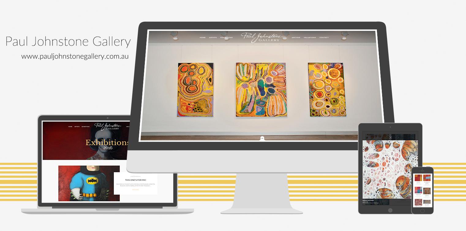 Weeboo Design Portfolio 2016 - Paul Johnstone Gallery