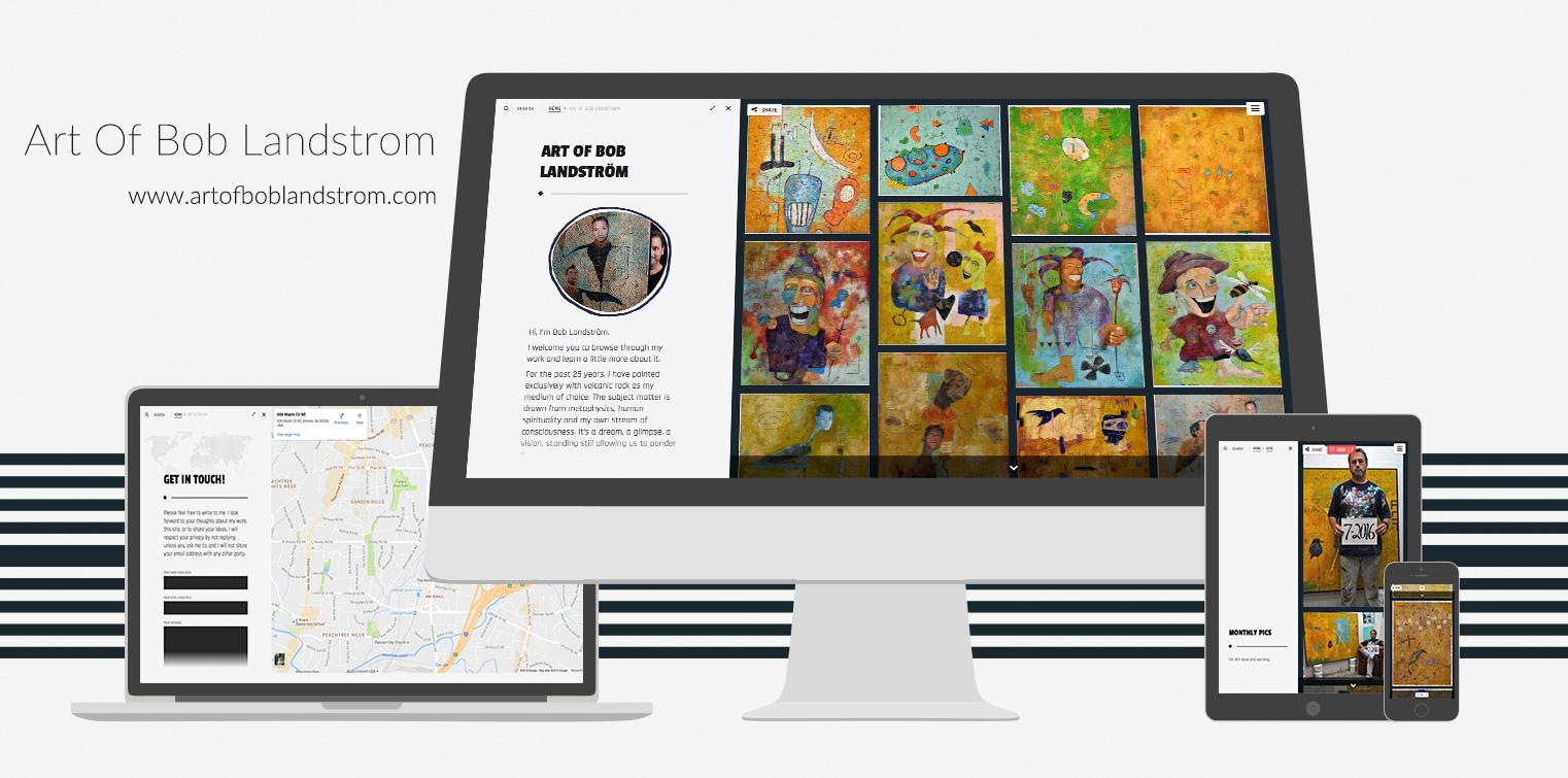 Weeboo Design Portfolio 2016 - Art Of Bob Landstrom